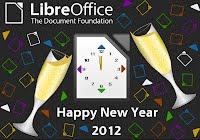 Happy New Year 2012, by Eliane Domingos.